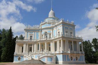 Oranienbaum Palace - die letzte Residenz vom Zar Peter III